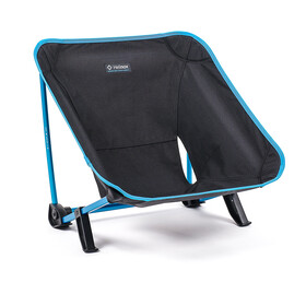Helinox Incline Festival Chair, black/cyan blue